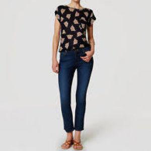 LOFT Modern Kick Crop Jeans